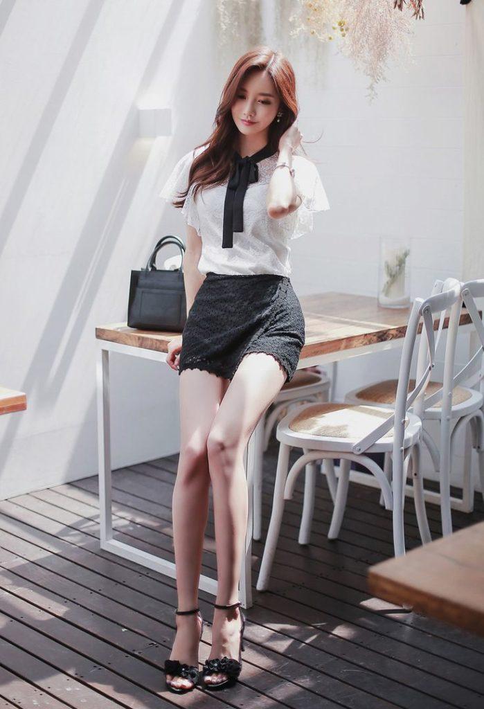 韓国娘の美脚率が異常~!必ず抜ける美女エロ画像33枚・9枚目の画像