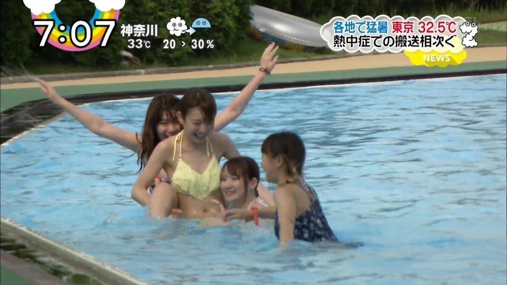 夏はTVで簡単に水着娘が拝めるし最高!エロキャプ画像31枚・11枚目の画像