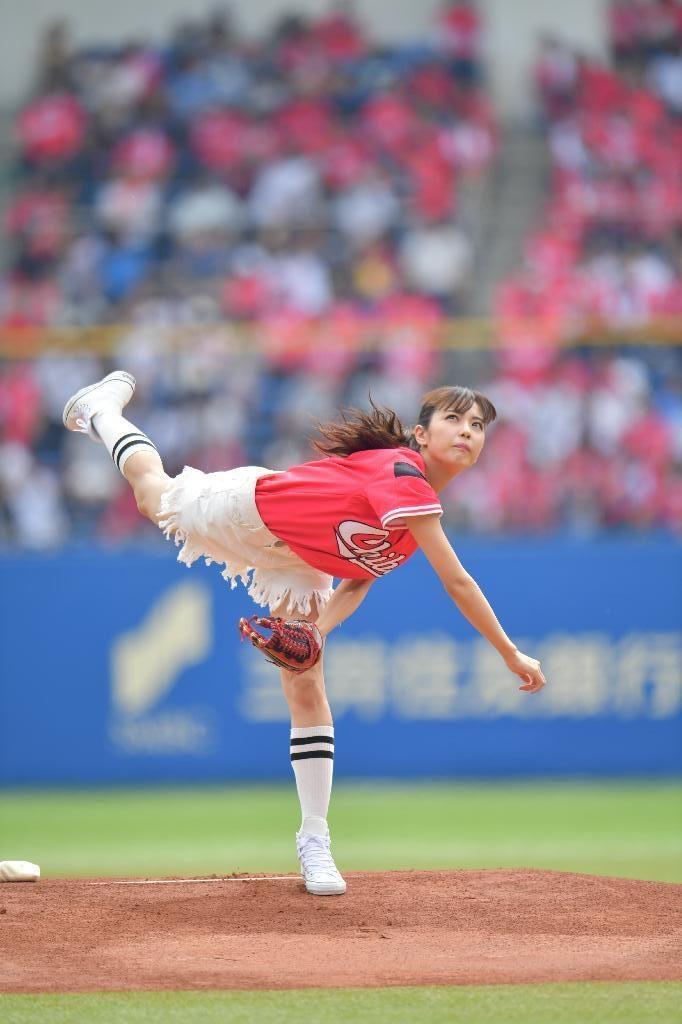 ビリギャル石川恋(23)最新始球式や抜けるエロ画像50枚・12枚目の画像