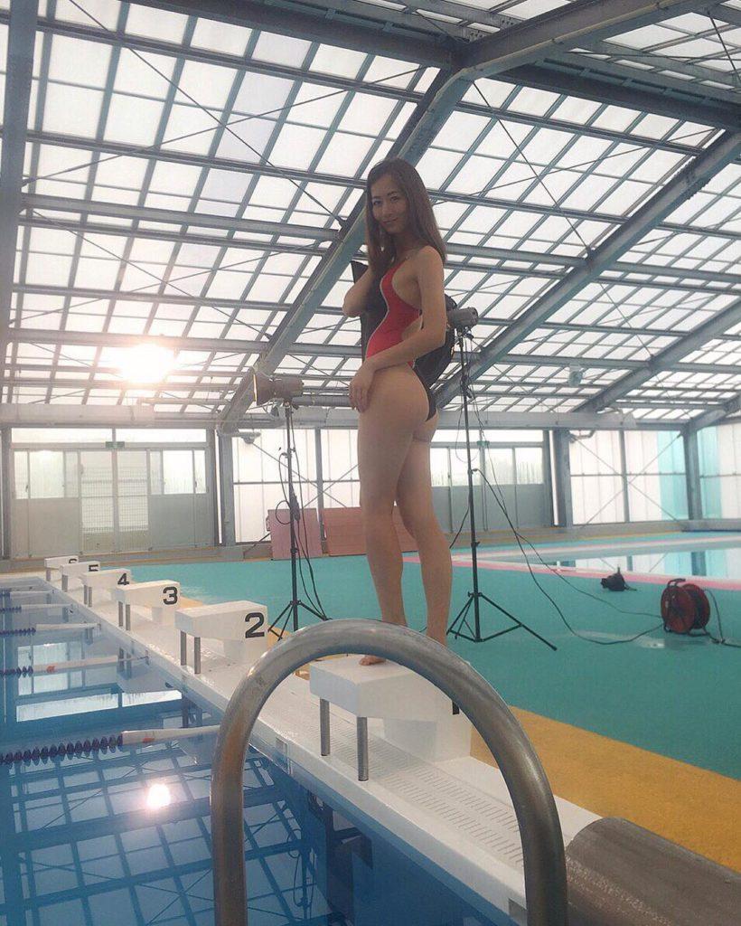 ブレイク必至!宮河マヤ(26)プリケツハーフモデル美女のエロ画像35枚・17枚目の画像