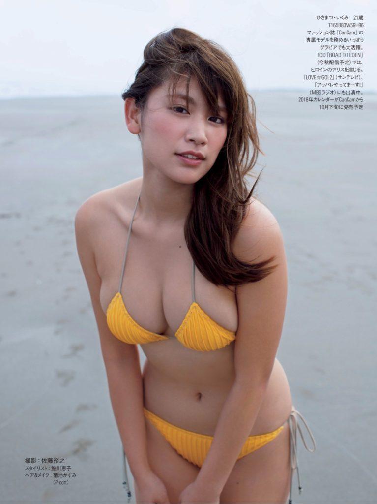 久松郁実(21)の最新グラビア&アイコラエロ画像185枚・125枚目の画像