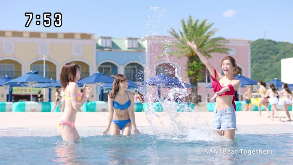 夏はTVで簡単に水着娘が拝めるし最高!エロキャプ画像31枚・20枚目の画像