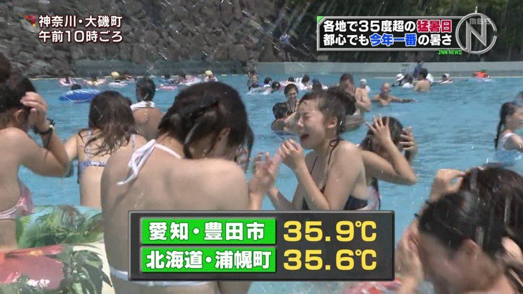 夏はTVで簡単に水着娘が拝めるし最高!エロキャプ画像31枚・24枚目の画像