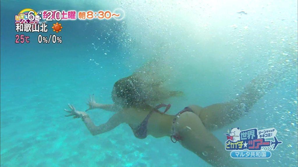 夏はTVで簡単に水着娘が拝めるし最高!エロキャプ画像31枚・27枚目の画像