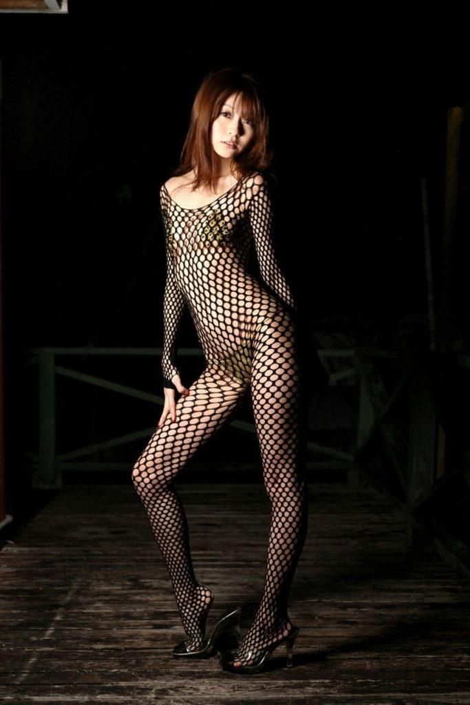 変態女しか履かない全身網タイツのエロ画像33枚・36枚目の画像
