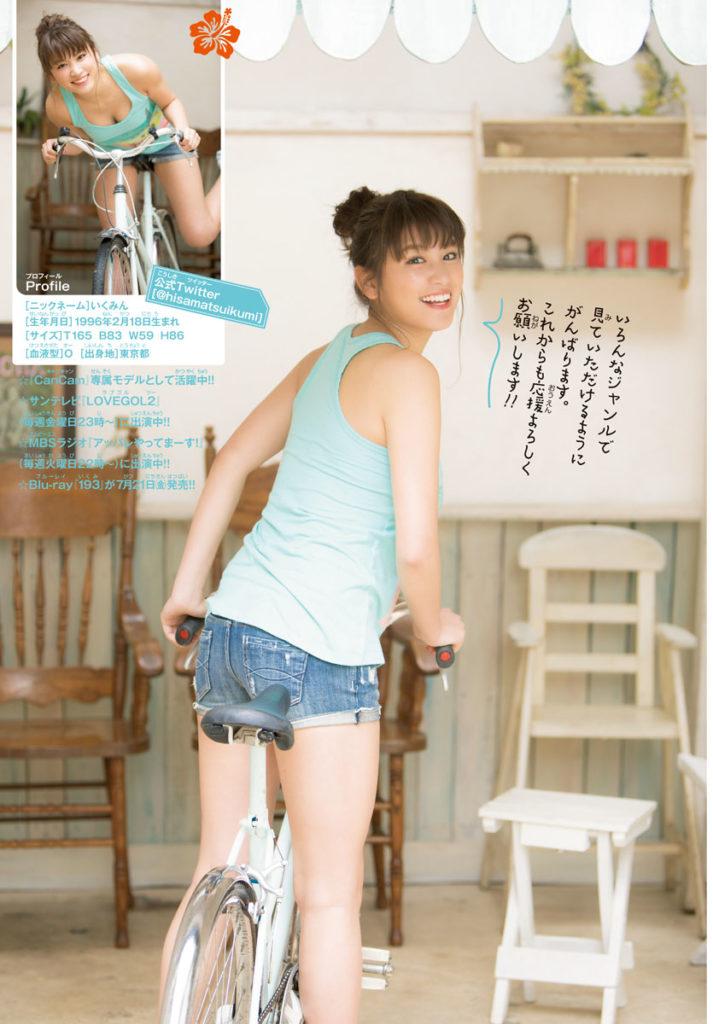 久松郁実(21)の最新グラビア&アイコラエロ画像185枚・33枚目の画像