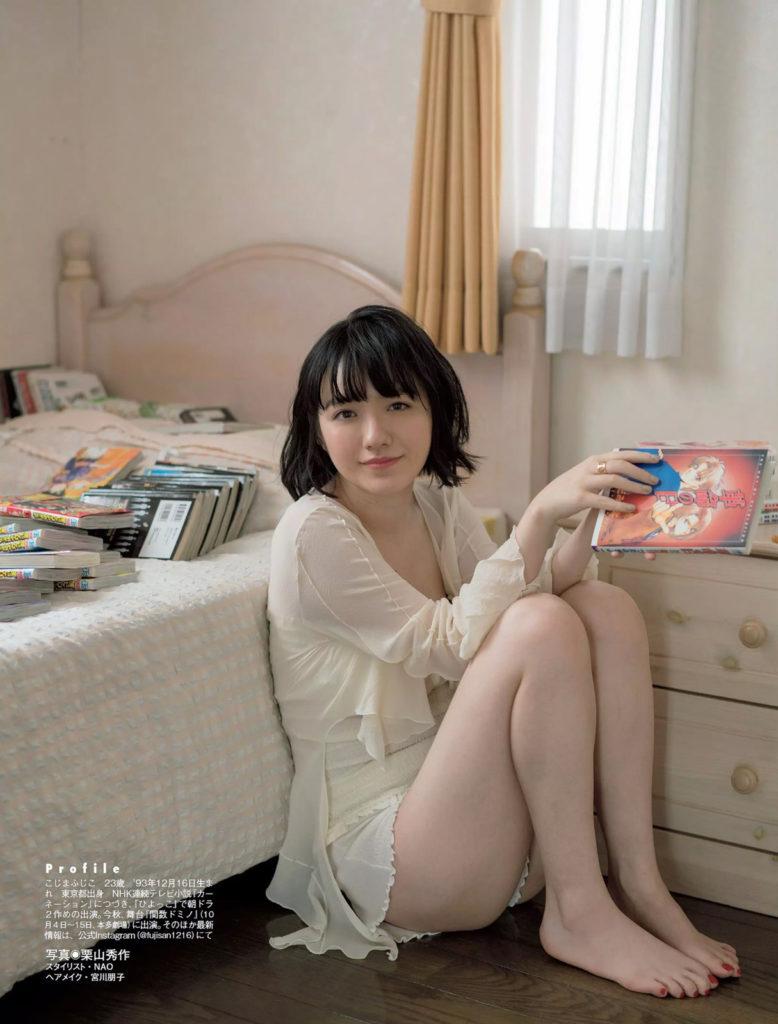 朝ドラひよっこ女優・小島藤子(23)の下着グラビアエロ画像85枚・5枚目の画像