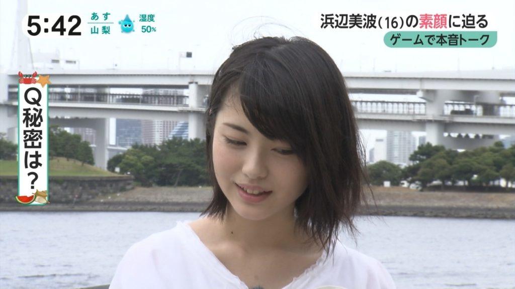 浜辺美波(16)「キミスイ」ヒロイン美少女のぐうカワエロ画像55枚・8枚目の画像