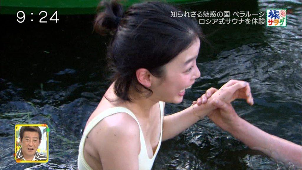 旅サラダガールズ・吉倉あおい(22)の胸チラエロ画像36枚・20枚目の画像