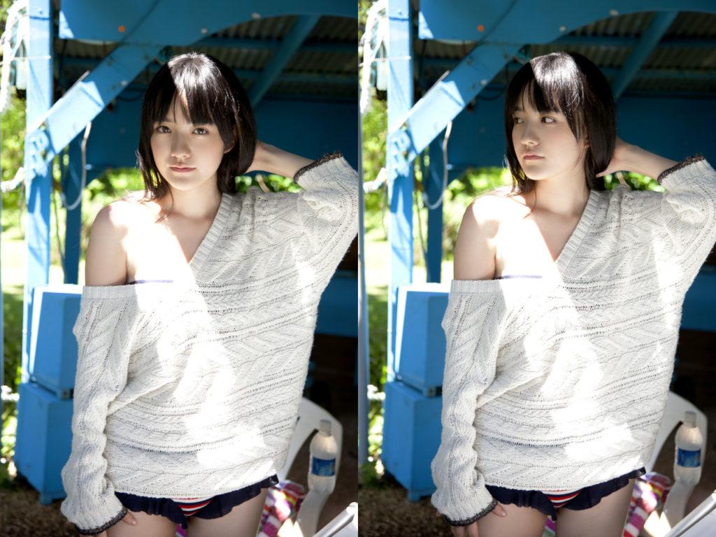 朝ドラひよっこ女優・小島藤子(23)の下着グラビアエロ画像85枚・21枚目の画像