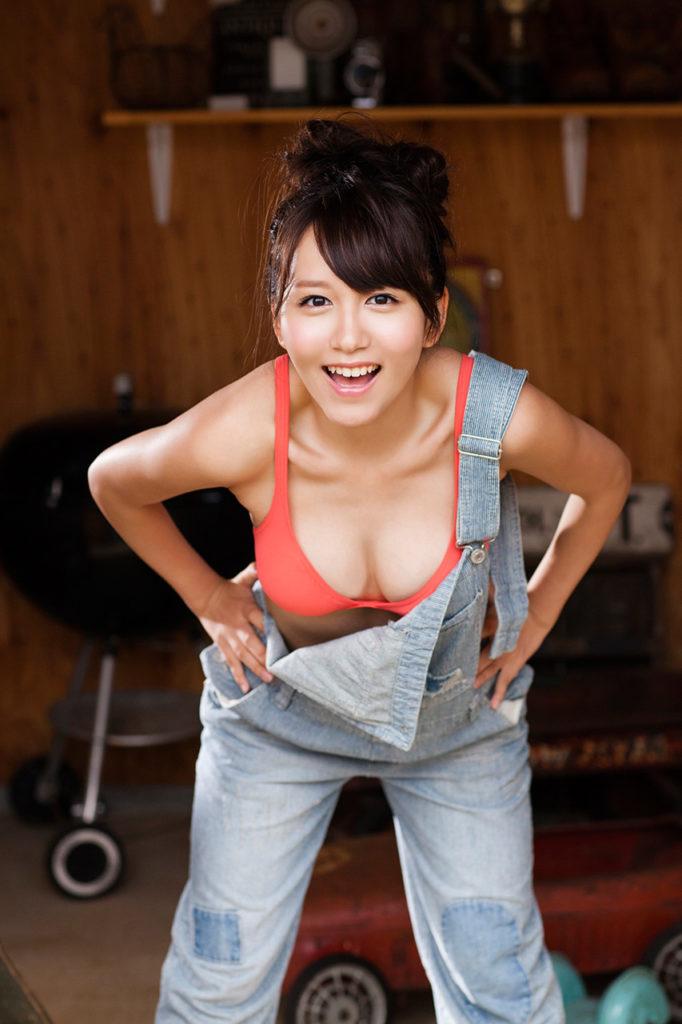 SKE48大場美奈(25)のEカップ巨乳が抜ける最新グラビアエロ画像75枚・29枚目の画像