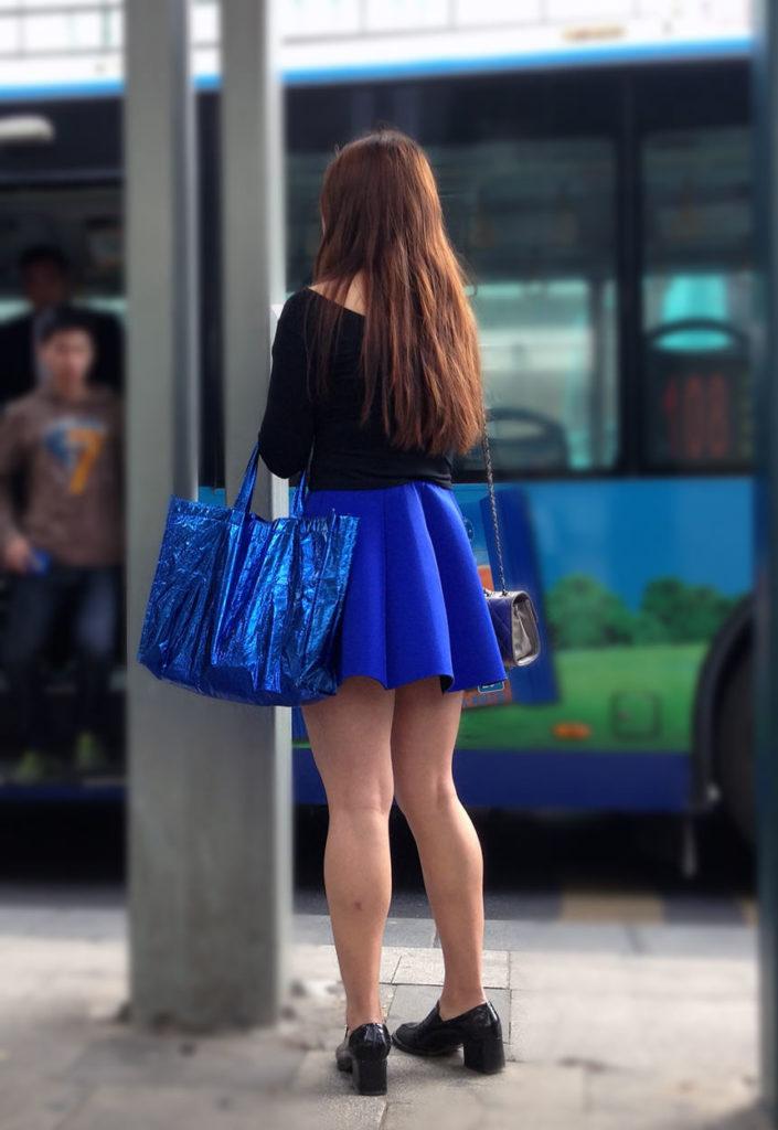 生足露出がエロい中国人素人娘のエロ画像35枚・41枚目の画像