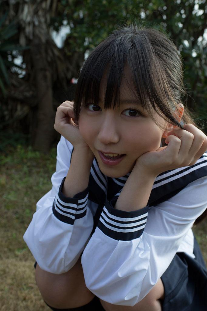 SKE48大場美奈(25)のEカップ巨乳が抜ける最新グラビアエロ画像75枚・34枚目の画像