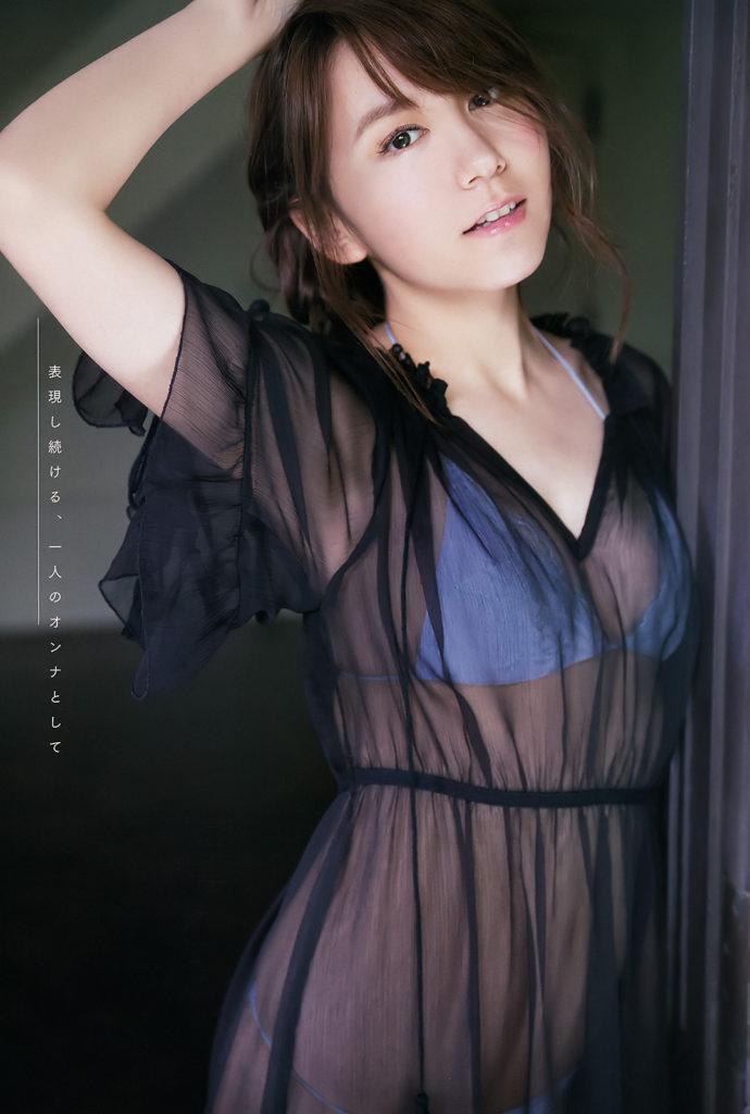 SKE48大場美奈(25)のEカップ巨乳が抜ける最新グラビアエロ画像75枚・74枚目の画像