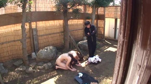 裸で土下座させてるDVエロ画像30枚・15枚目の画像