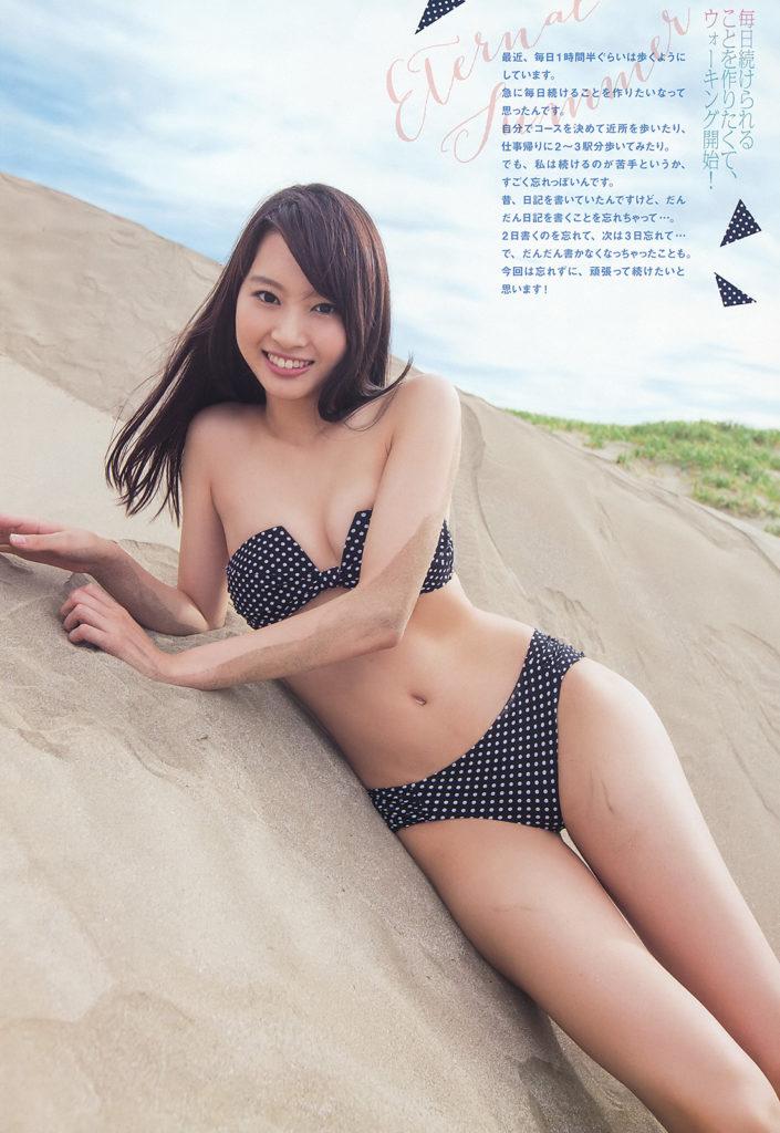 山下永夏(23)貧乳スレンダー美女の最新グラビアエロ画像32枚・19枚目の画像