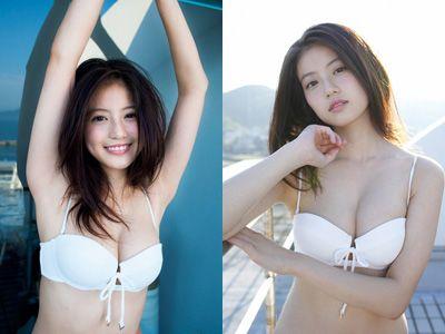 今田美桜(20)の水着グラビア&始球式パンチラエロ画像73枚・1枚目の画像
