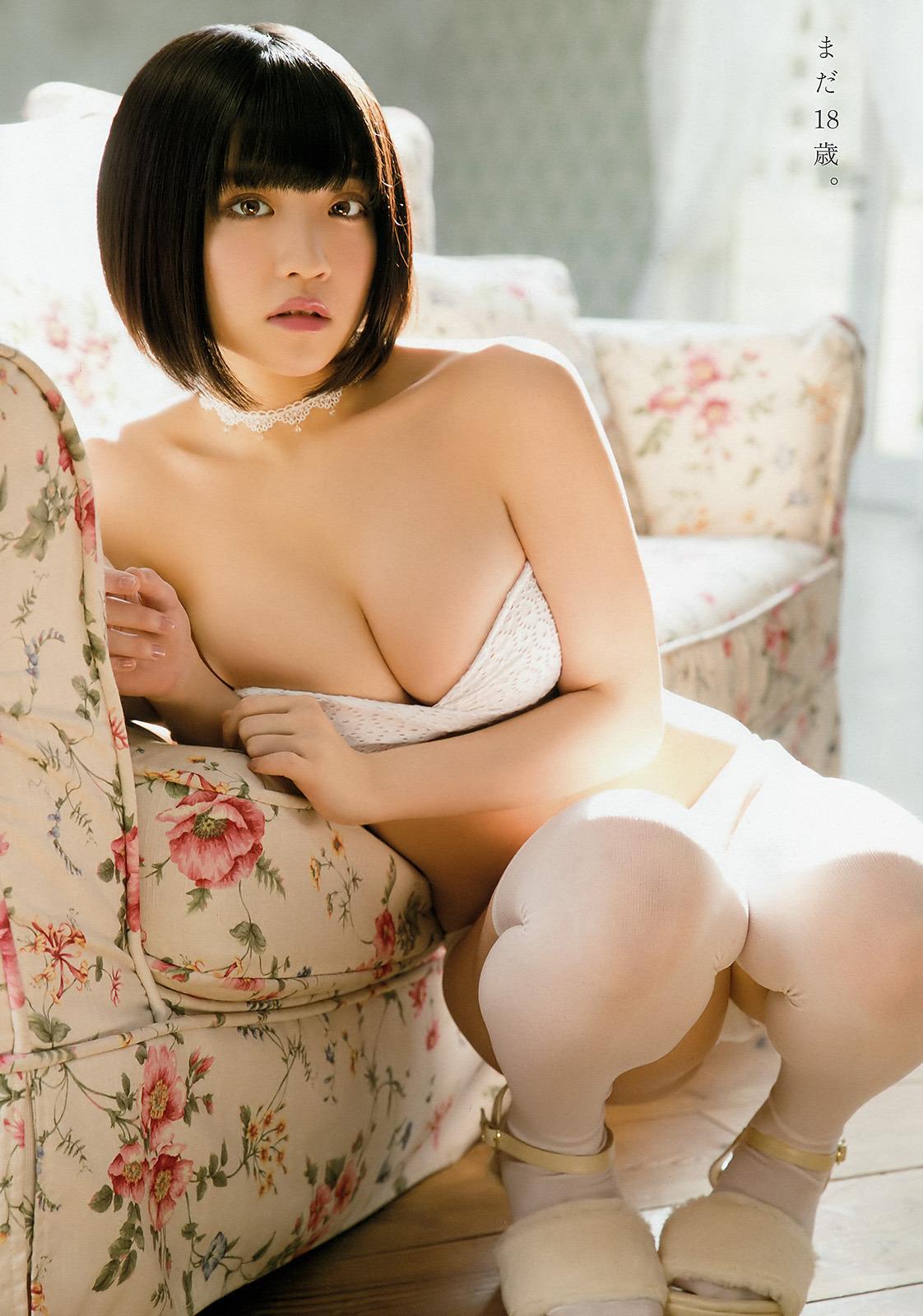 根本凪(18)GカップJKアイドルの水着グラビアエロ画像70枚・5枚目の画像