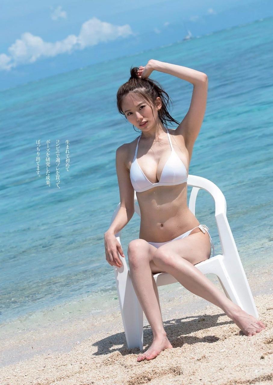 伊東紗冶子(23)Gカップキャスターの水着グラビア画像116枚・98枚目の画像