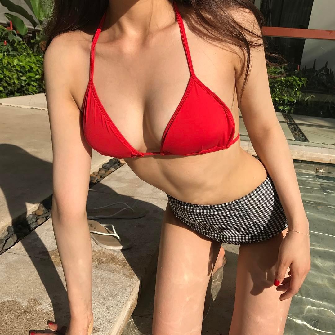 豊胸万歳!韓国美女の着衣巨乳&インスタ自撮りエロ画像65枚・45枚目の画像