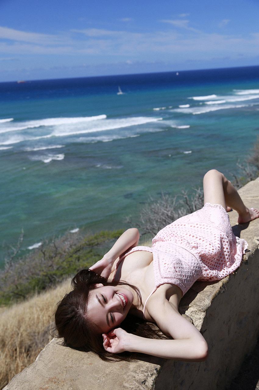 伊東紗冶子(23)Gカップキャスターの水着グラビア画像116枚・116枚目の画像