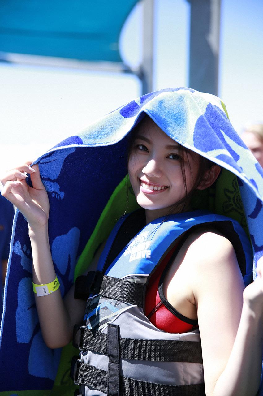 伊東紗冶子(23)Gカップキャスターの水着グラビア画像116枚・118枚目の画像