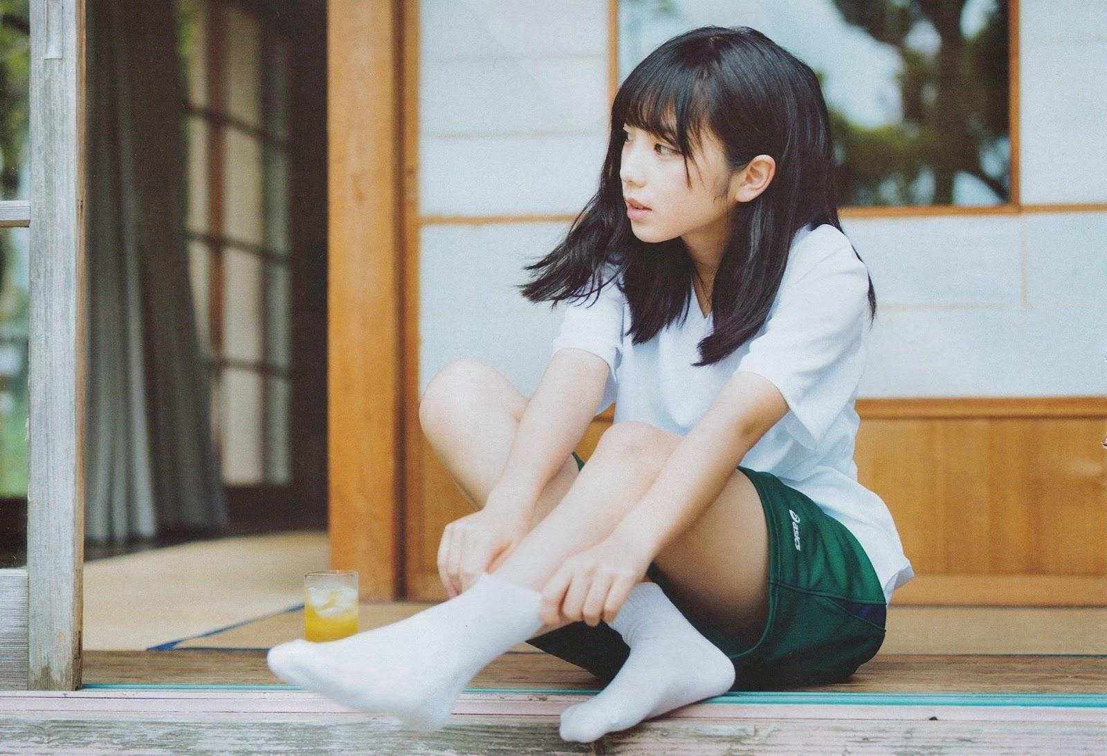 乃木坂46与田祐希(17)写真集の初水着が抜けるエロ画像68枚・61枚目の画像