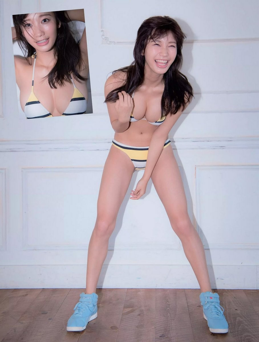 小倉優香(19)Gカップ8頭身「リアル峰不二子ボディ」のグラビアエロ画像165枚・10枚目の画像