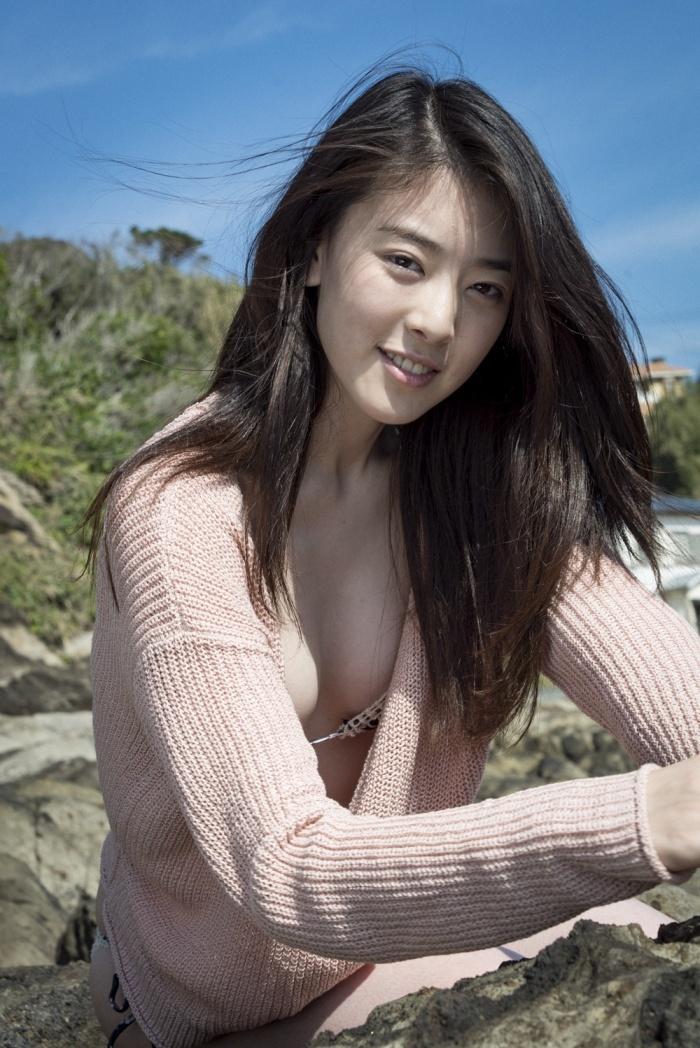 水上京香(22)朝ドラ女優の抜ける水着グラビアエロ画像46枚・9枚目の画像