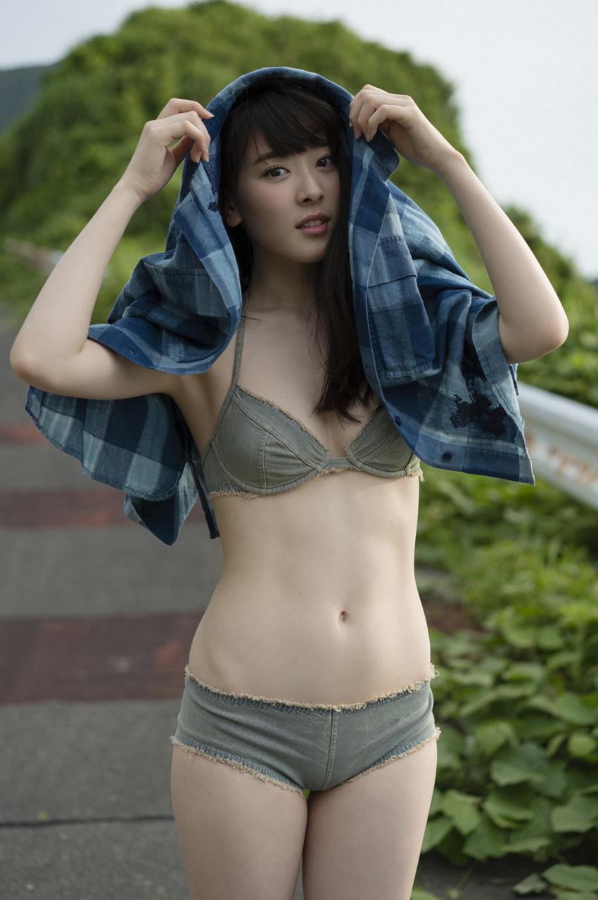水上京香(22)朝ドラ女優の抜ける水着グラビアエロ画像46枚・25枚目の画像