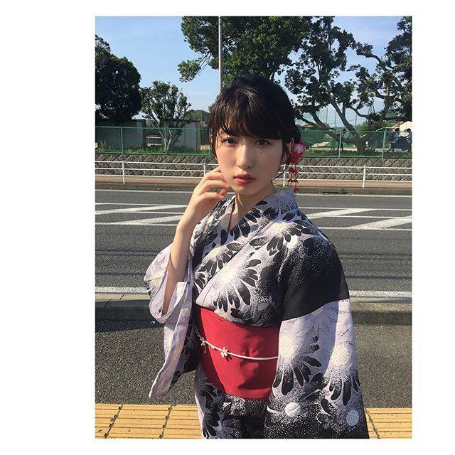 元Dream5日比美思(19)の色白巨乳グラビアエロ画像53枚・57枚目の画像