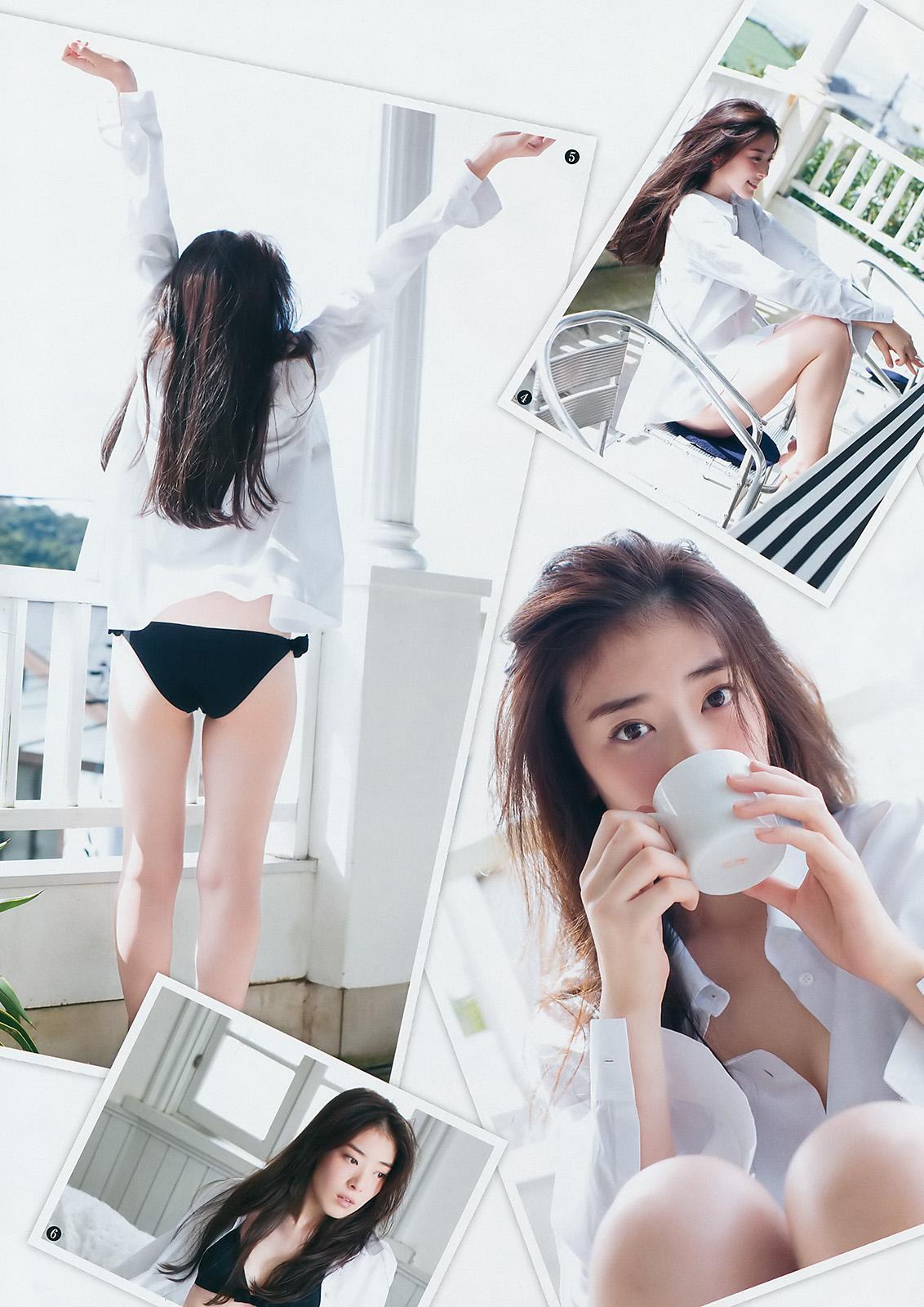 水上京香(22)朝ドラ女優の抜ける水着グラビアエロ画像46枚・33枚目の画像