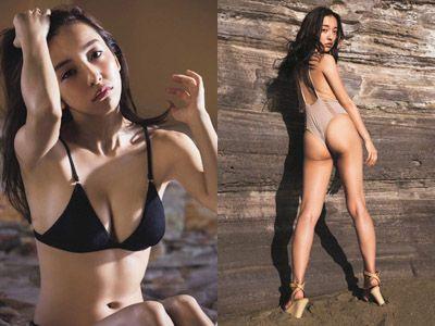 板野友美(26)のヌード間近の変態ハミ尻写真集エロ画像70枚・1枚目の画像