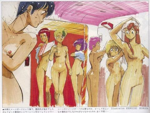 複数の女の子が全裸になってるwww★2次元複数全裸エロ画像(`・ω・´)・9枚目の画像