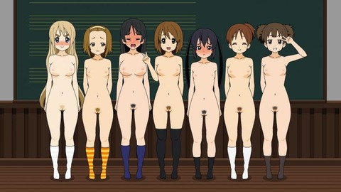 複数の女の子が全裸になってるwww★2次元複数全裸エロ画像(`・ω・´)・35枚目の画像