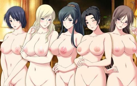 複数の女の子が全裸になってるwww★2次元複数全裸エロ画像(`・ω・´)・33枚目の画像
