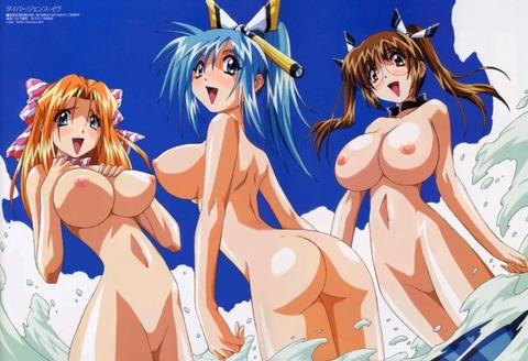 複数の女の子が全裸になってるwww★2次元複数全裸エロ画像(`・ω・´)・10枚目の画像