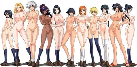複数の女の子が全裸になってるwww★2次元複数全裸エロ画像(`・ω・´)・34枚目の画像