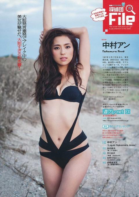 中村アンというモデルのパンチラとか超過激な水着wwww★中村アンエロ画像・20枚目の画像