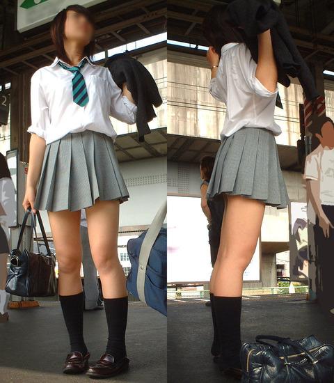JKの生脚って春夏秋冬エロいよなwwwww★女子高生街撮りエロ画像・38枚目の画像