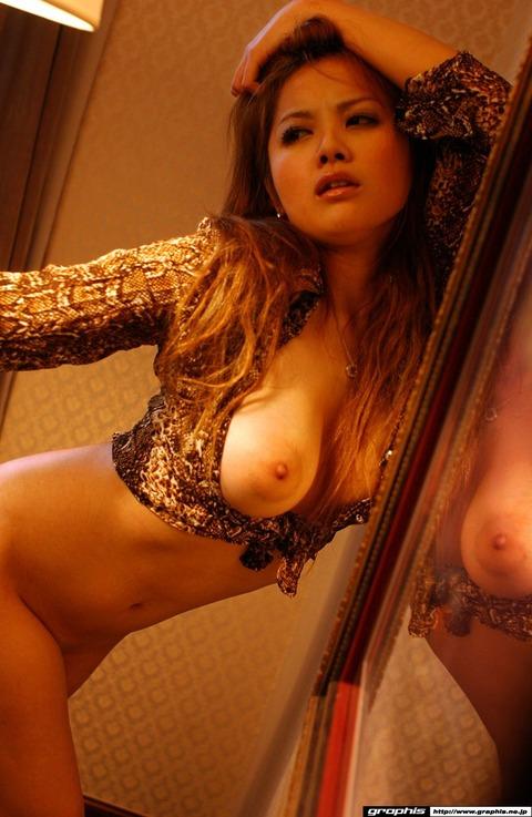 乳輪の大きさがギネス一歩手前の巨乳ギャルwwww★羽田夕夏エロ画像・7枚目の画像