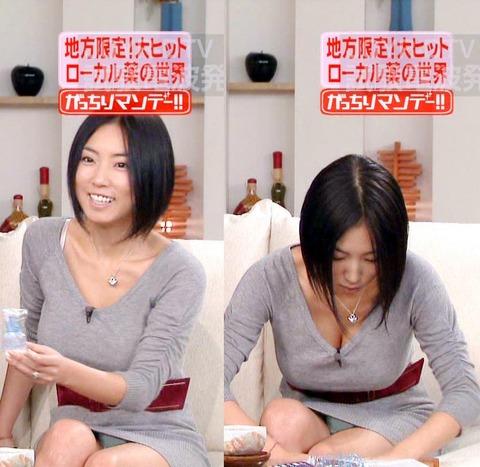 芸能人や女子アナのテレビで映っちゃったパンチラやおっぱいポロリのハプニング画像wwww・17枚目の画像