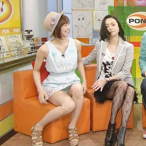 芸能人や女子アナのテレビで映っちゃったパンチラやおっぱいポロリのハプニング画像wwww・31枚目の画像