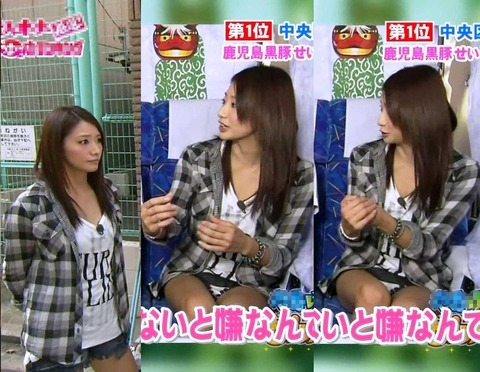 芸能人や女子アナのテレビで映っちゃったパンチラやおっぱいポロリのハプニング画像wwww・29枚目の画像