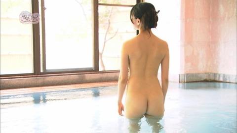 菅原あさひとかいうグラドルが全裸入浴をTVで公開wwww★もっと温泉に行こうエロ画像・8枚目の画像