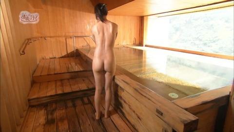 菅原あさひとかいうグラドルが全裸入浴をTVで公開wwww★もっと温泉に行こうエロ画像・12枚目の画像