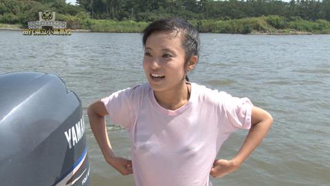 小島瑠璃子(こじるり)のテレビで映ったおっぱい見せつけお色気シーンのエロ画像wwwwwww・32枚目の画像