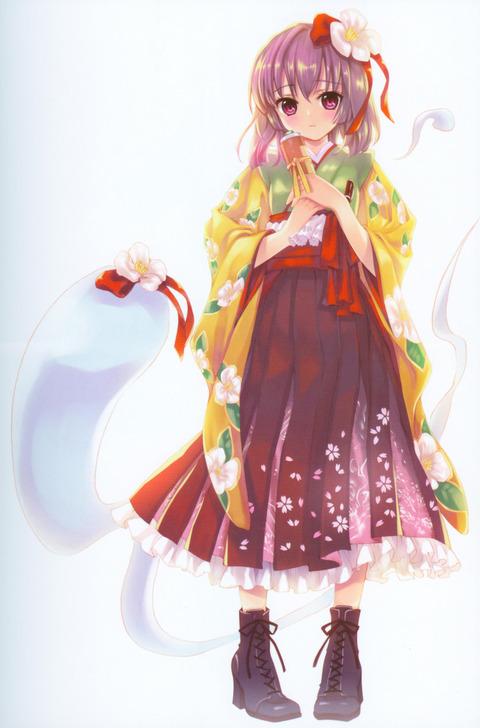 和服姿の女の子の虹画像★うん。艶やか・22枚目の画像