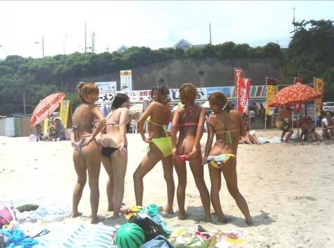 ビキニギャルの夏の思い出写真wwww★素人水着エロ画像・45枚目の画像