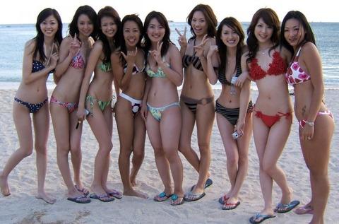 ビキニギャルの夏の思い出写真wwww★素人水着エロ画像・3枚目の画像